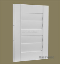 High Quality Interior Bass Wood Folding and Sliding Window Shutters