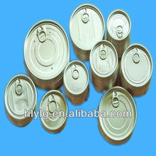 High qutity tin can easy open ends/easy open peel off ends