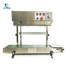 SF150 Vertical Continuous Band Sealer Plastic film Bag Sealing Machine
