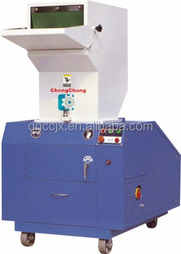 pvc pv pe pp waste plastic crusher/plastic recycling machine