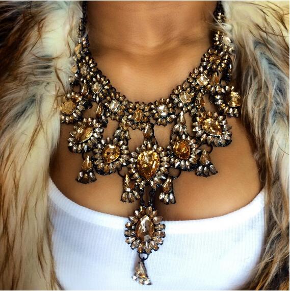 new fashion jewelry big pandant diffuser chunky statement