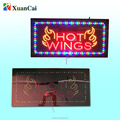 customized designed led open sign approval UL High end acrylic cover only 2.5 cm thickness flashing advertising sign