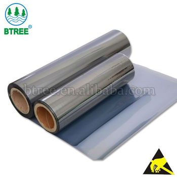 Btree ESD Shielding Film Roll For Making ESD Shielding Bag To Prevent Damage From ESD