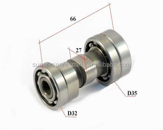 engine parts Camshaft Type 1P54FMI 154FMI 157FMI 125cc motorcycle 125cc dirt bike