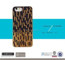 3D Knight Unique Printing China wholesale 100% real wood cover case for iphone 6,for iphone 6 wood case