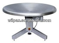 stainless steel WP-R Series output rotating table for Plastic Part Sachet Packing Machine