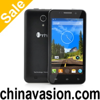 Quad Core Android 4.2 Mobile Phone ThL W100S with 4.5 Inch Display, 3G, 960x540 IPS Screen, MT6582M 1.3GHz CPU (Black)