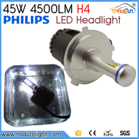 Factory direct 5200 lumen p6 led headlighting car led headlight h4 h7 h11 h13 h15 h16 hb3 hb4 9004 9012 led