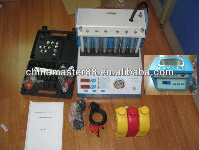 Promotion Automotice Ultrasonic Fuel Injector Cleaner Test Machine Machine MST-360 --better than cnc 602a