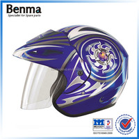 China factory custom made half face helmet off-road helmet