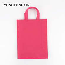 Newest Modern design Unique oem shopping non woven t-shirt fabric bag wholesale