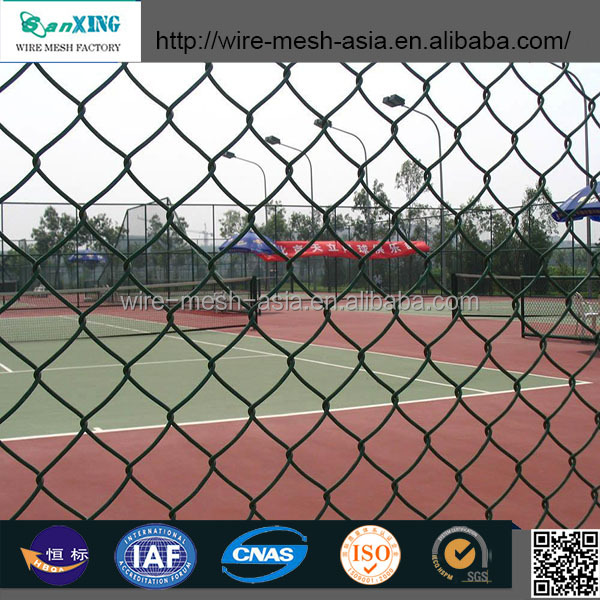 Professional manufacture factory price tension wire chain link fence