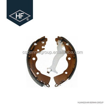 Aftermarket car parts china shoe factory brake shoe OE NO 583051GA00 5830231020 583054AA20 5830529A10 for Korean car