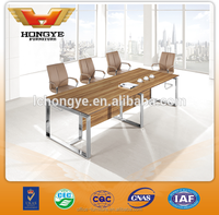 Melamine conference table Modern office table Wooden office meeting table