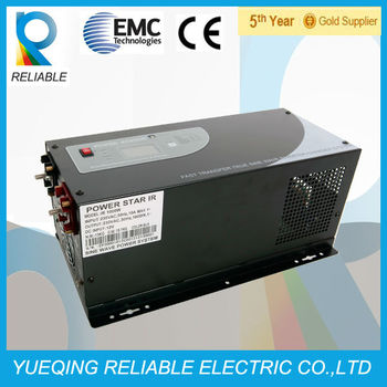 1000w To 6000w Pure Sine Wave Combo Inverter Charger Buy