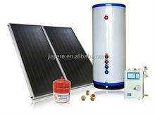 Widely used 300L split solar water heater with flat panel solar collector