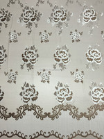 Jacquard curtain fabric drapes for window