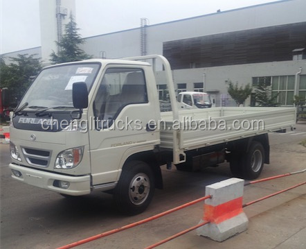 China low price Right hand drive Foton Light Duty 1.5 tons 3 tons Cargo Truck 4x2 4x4 Diesel Vans