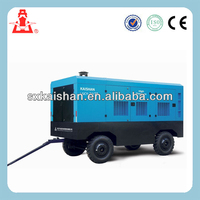 kaishan LGCY15-13 high pressure paintball air compressor/diesel mini portable screw air compressor