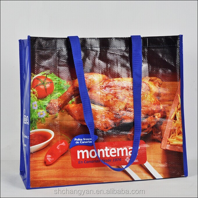 Supply top quality recycle laminated pp woven bag(NW-725)