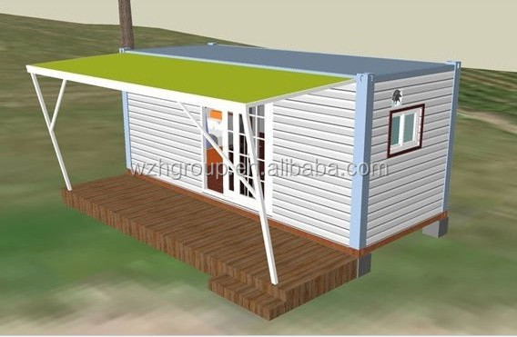 20ft Container Office/Shop/House/Home with with Wood-Plastic Composite Flooring
