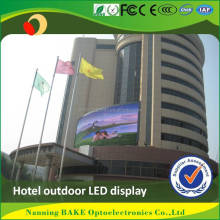 iso9001 ce rohs p10 outdoor large display digital clock