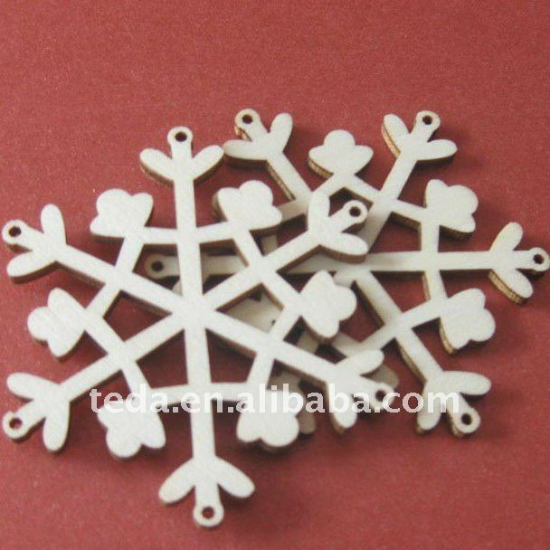 Snowflake Plywood Christmas Hangings