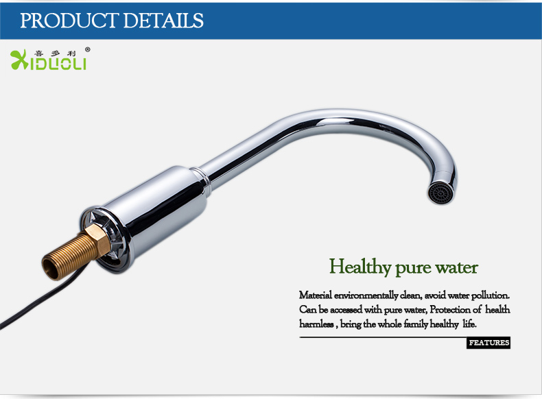 Automatic Sensor Kitchen Faucet