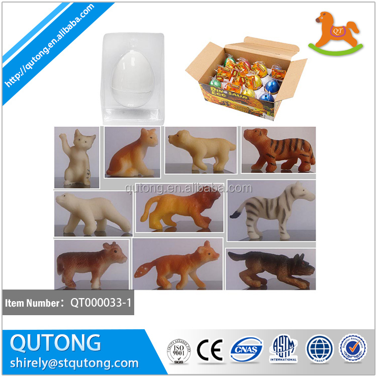 many series animals growing egg toy put in water growing egg toy /animals growing egg toy