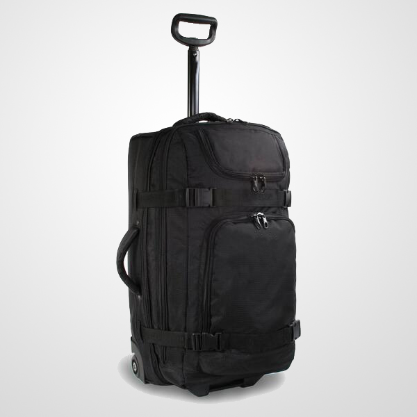 Rolling Duffel Travel trolley Luggage bag With Side Compression Belt