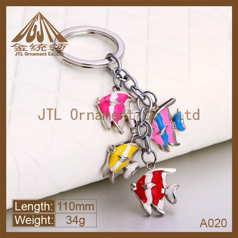 existing mould zinc alloy live animal keychain