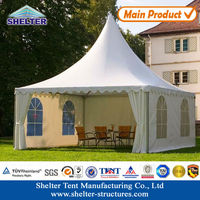 Outdoor Lawn Tent Canvas Pyramid View Tent