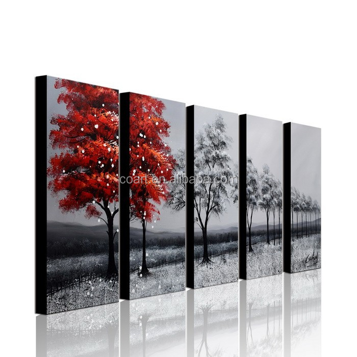 2015 New Product Pretty Abstract Canvas Painting Wall Art