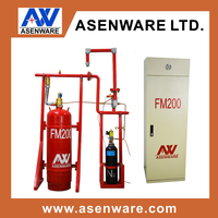 FM200 (heptafluoropropane) Fire Suppression System, FM200 Clean Agent Gas Fire Extinguisher