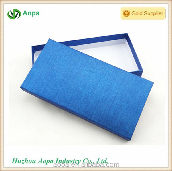 S291 Blue sky color fasion design Christmas 2 piece box
