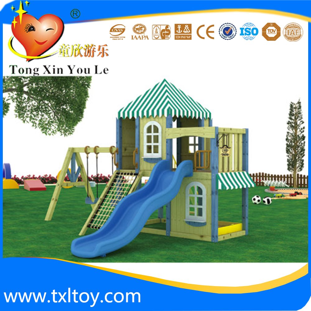 Outdoor activity sets for kids backyard slide playground outdoor equipment store