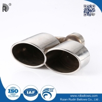 Customed carbon fiber stainless steel exhaust pipe,small engine