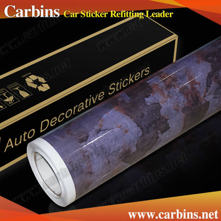 New product Rusty design vinyl car wrap Carbins Rat-like film!