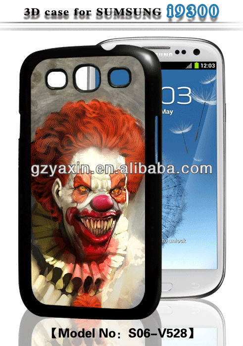 wholesale funny case for samsung galaxy s3,3d cartoon animal silicone case for samsung galaxy s3