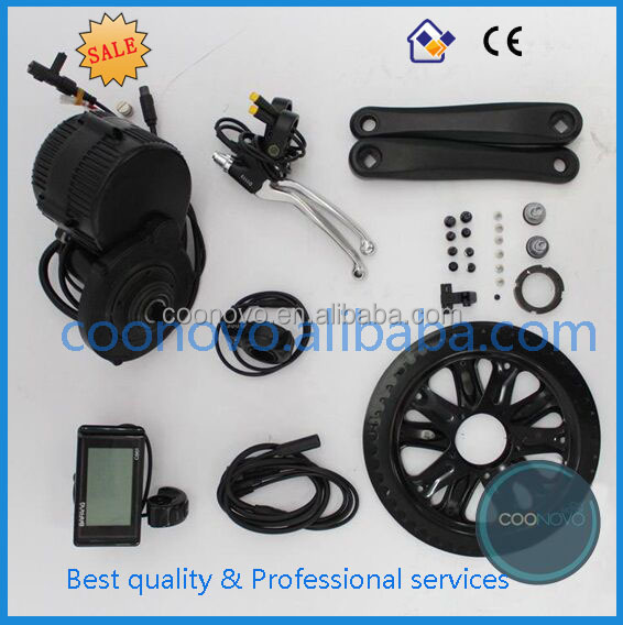 8fun 48v 350w electric bicycle central drive motor kit and electric bicycles mid drive conversion kit