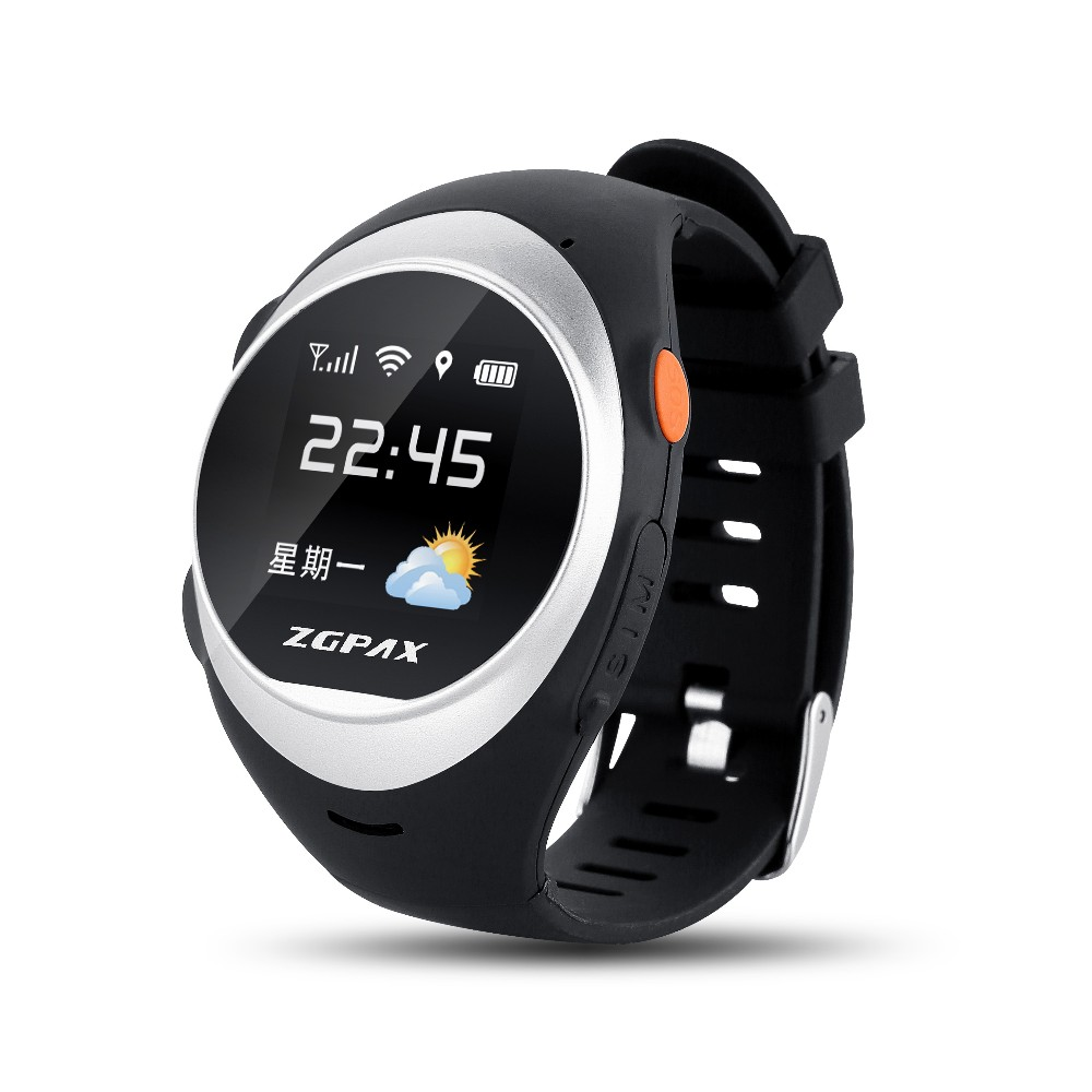 2016 ZGPAX ELDER TRACKING WATCH PHONE S888