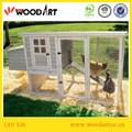 Wooden chicken breeding cage iron wire fence