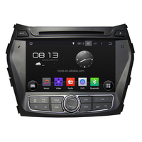 "8"" touch screen Android 5.1.1 Quad Core Car DVD player for Hyundai IX45/Santa Fe 2013"