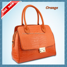 Fashion Design Crocodile Leather Bag Woman Stylish Handbags 2015
