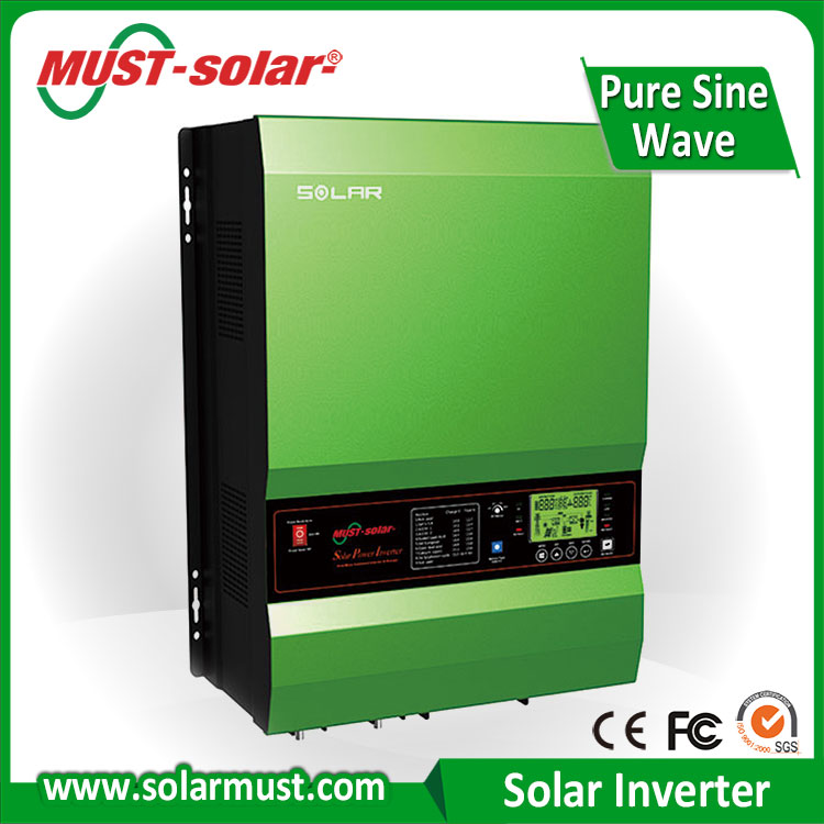 4kw-12kw Solar System RS485 Communication of Nice Quality 12 220 dc-ac Inverter