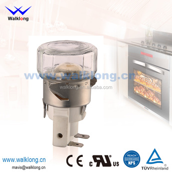 E14 110~120V/230~240V, Max 25W Gas Microwave Oven Lamp