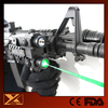 Weapon waterproof picatinny rail green laser light