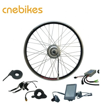 "China high quality 27.5"", 700C, 29"" 48v 500w ebike motor conversion kit withintelligent controller"