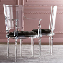 High Class Dining Room Furniture Clear Chair Acrylic Dining Chairs