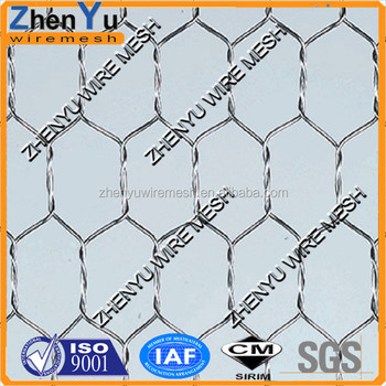 Hexagonal wire mesh cage chicken wire home depot/ galvanized chicken wire mesh
